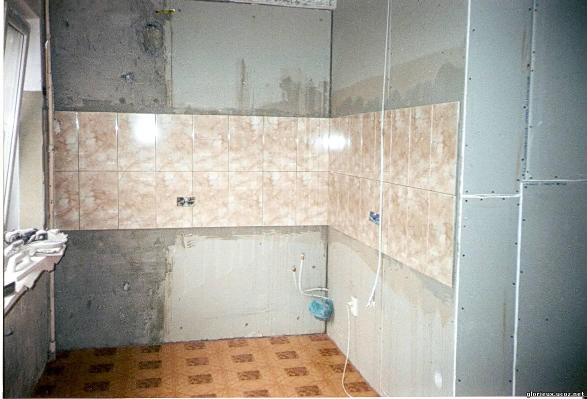 Как укладка гипсокартона в ванной ком 129